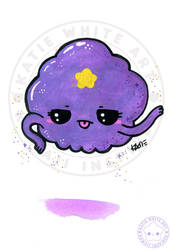 Lumpy Space Princess [Watercolour IV]