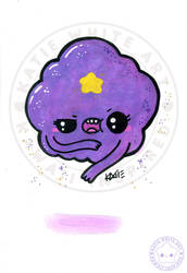 Lumpy Space Princess [Watercolour VIII]