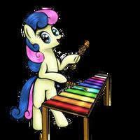 Ponies With Instruments #6 - Bonbon