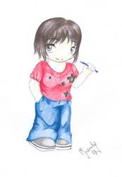 Chibi Me by moshi-ZUA