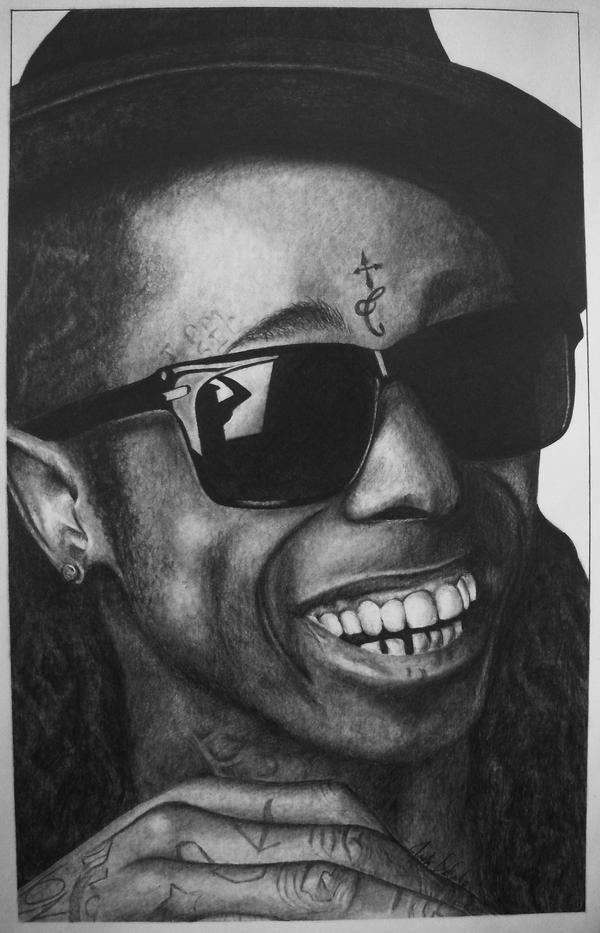 Pencil Drawings Of Lil Wayne Lil Wayne by D3Carl0 o...