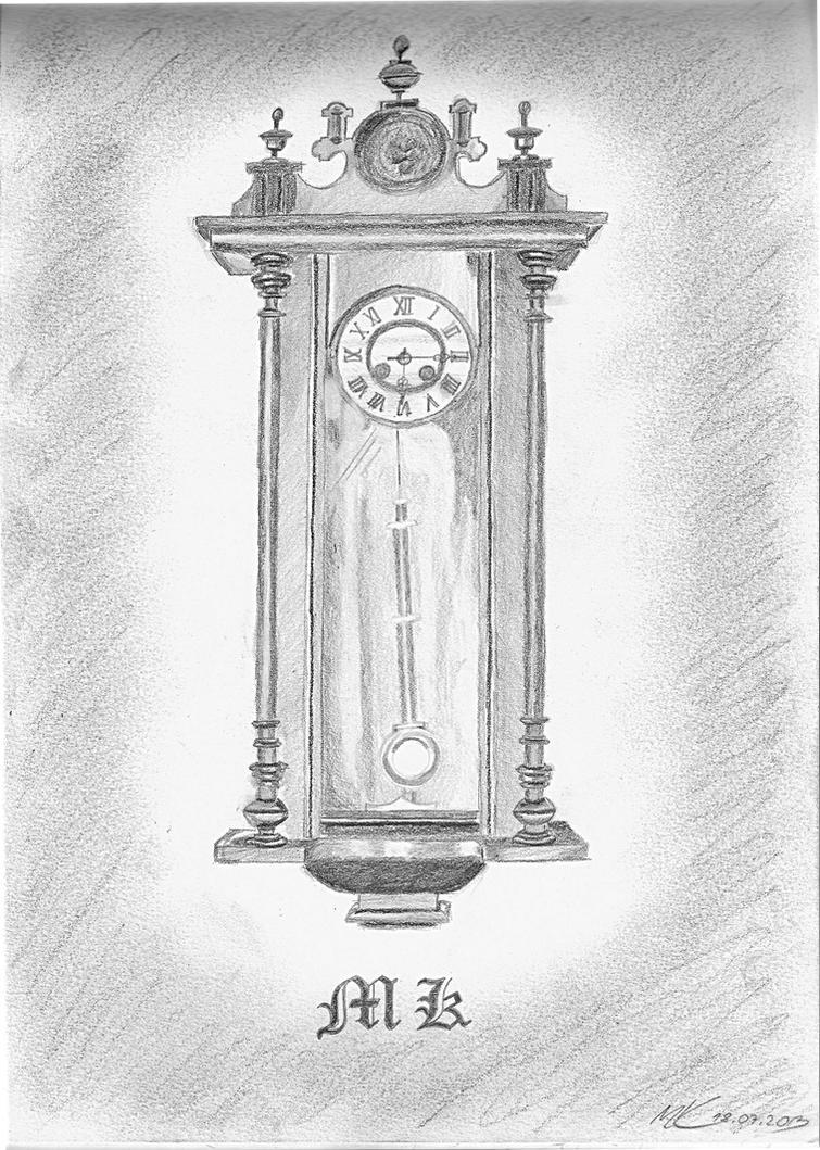 Old wall clock by Zeevar on DeviantArt