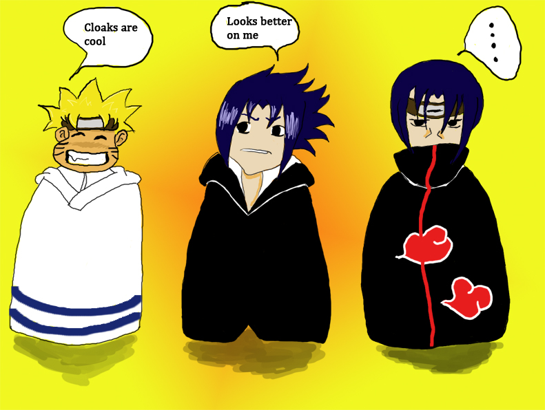 Naruto: Cloaks Are Cool By Maja83 On DeviantArt