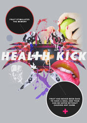 Heal+h Kick Poster Idea by conorjd