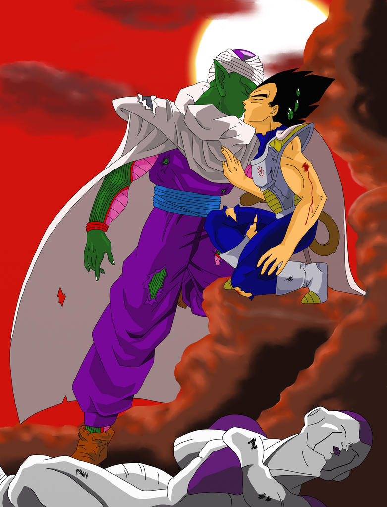 Piccolo and vegeta victory over freezer by for Freezer piccolo
