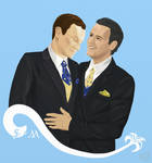 Mystrade Wedding Bells by celedansuniverse