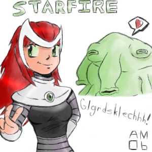 Starfire for Verbasan by RealLifePirate
