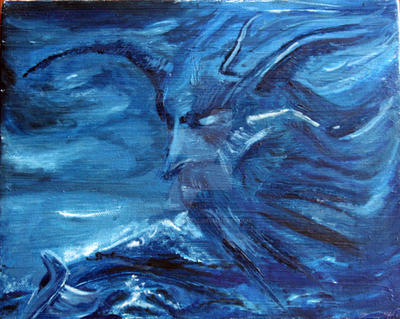 Storm on the Viking Sea by MelissaBoreal