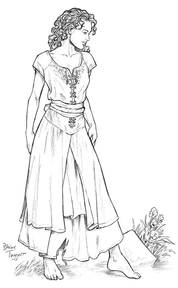 Peasant Dress By Staino On DeviantArt