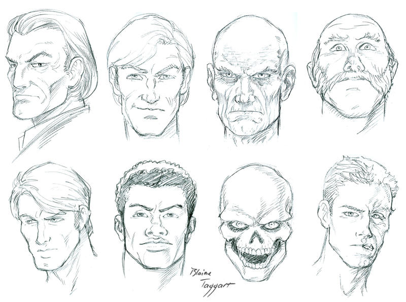 Man S Face Line Drawing : Male faces by staino on deviantart