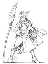 Female Dwarf by staino