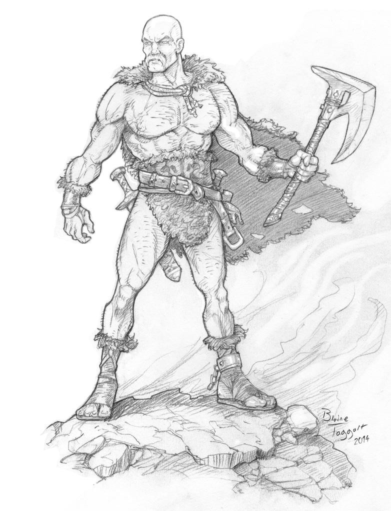Barbarian Hero by staino