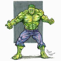Hulk by staino