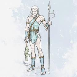 Aquatic Elf by staino