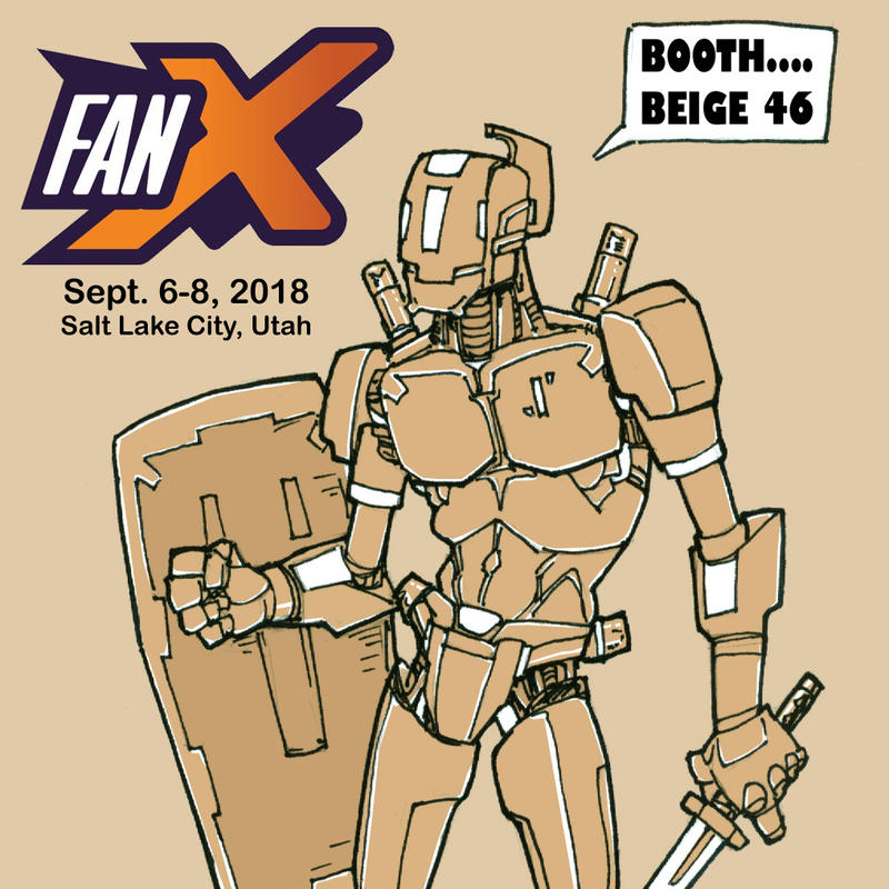 FanX Booth Beige 46 by staino