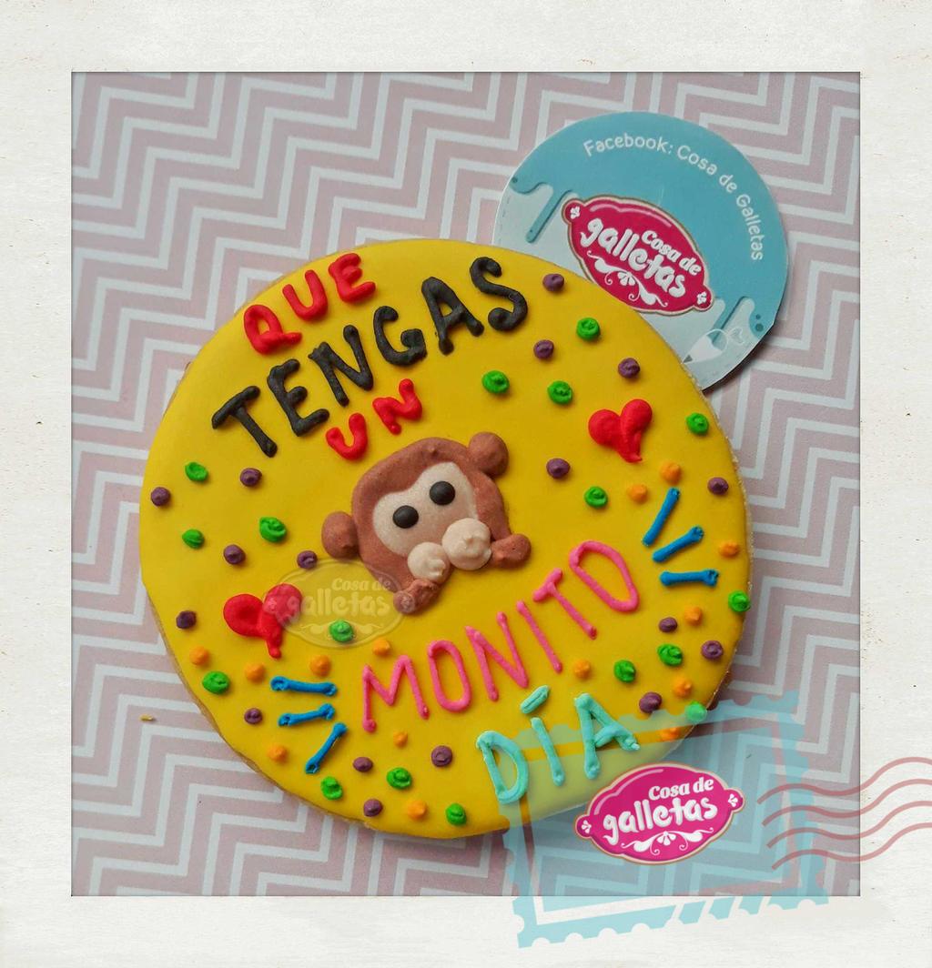 Bonito Dia Cookie By Cosa De Galletas On Deviantart