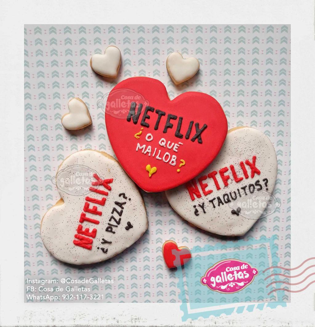Netflix mailob / Cookies by Cosa-de-Galletas on DeviantArt