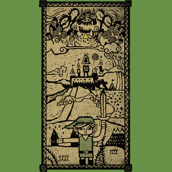 Hyrule Kingdom - The Legend of Zelda by Licunatt