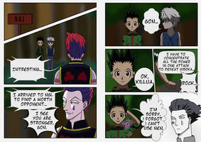 Hisoka x in x NGL by SilviaInverse