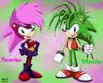 Sonia and Manic Sonic X