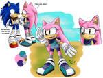 Charon the Hedgehog: Sonic BOOM design!