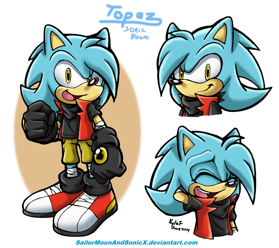 GIFT: Topaz (Boom Style!) by SailorMoonAndSonicX