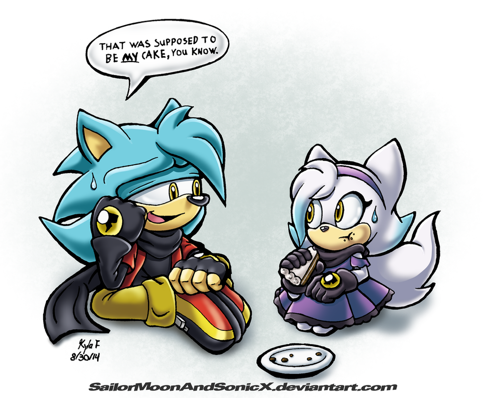 GIFT: Like Father, Like Daughter by SailorMoonAndSonicX