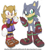 Gallivant and Amble by SailorMoonAndSonicX