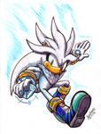 Inktober #2 - Marker Chaos: Silver