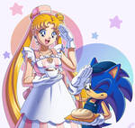 Sonic and Usagi Cafe 2