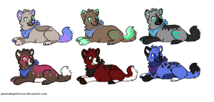 Canine Adoptables #2, #4 OPEN