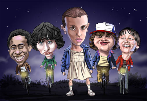 Stranger Things gang