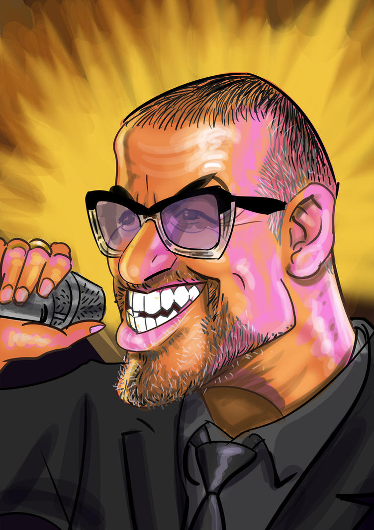 George Michael by Derveniotis