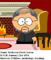 Professor Fred Craven by TheEyeShield