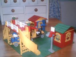 Fabuland Rail Station 3 by TheEyeShield