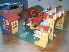 Fabuland Rail Station 4 by TheEyeShield