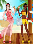 Summertime Girls: Catherine and Stephanie