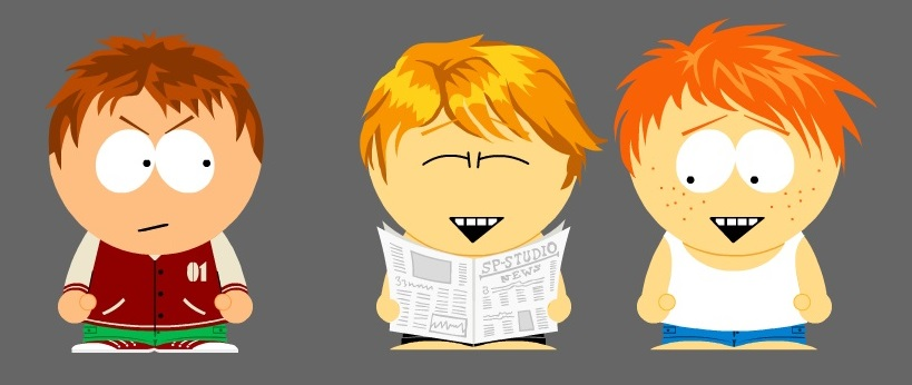 Family - Michael, Mark and Jack by TheEyeShield