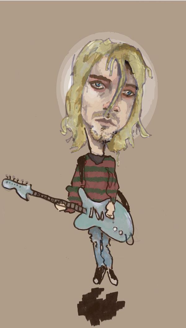 kurt cobain by mixmastermicc