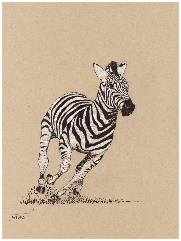 Zebra (Dynamic Form) by fizz1173