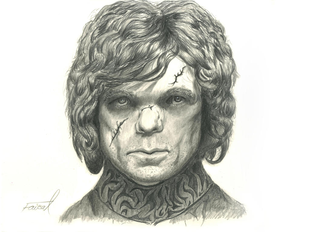 Tyrion Lannister (Peter Dinklage) Portrait by fizz1173