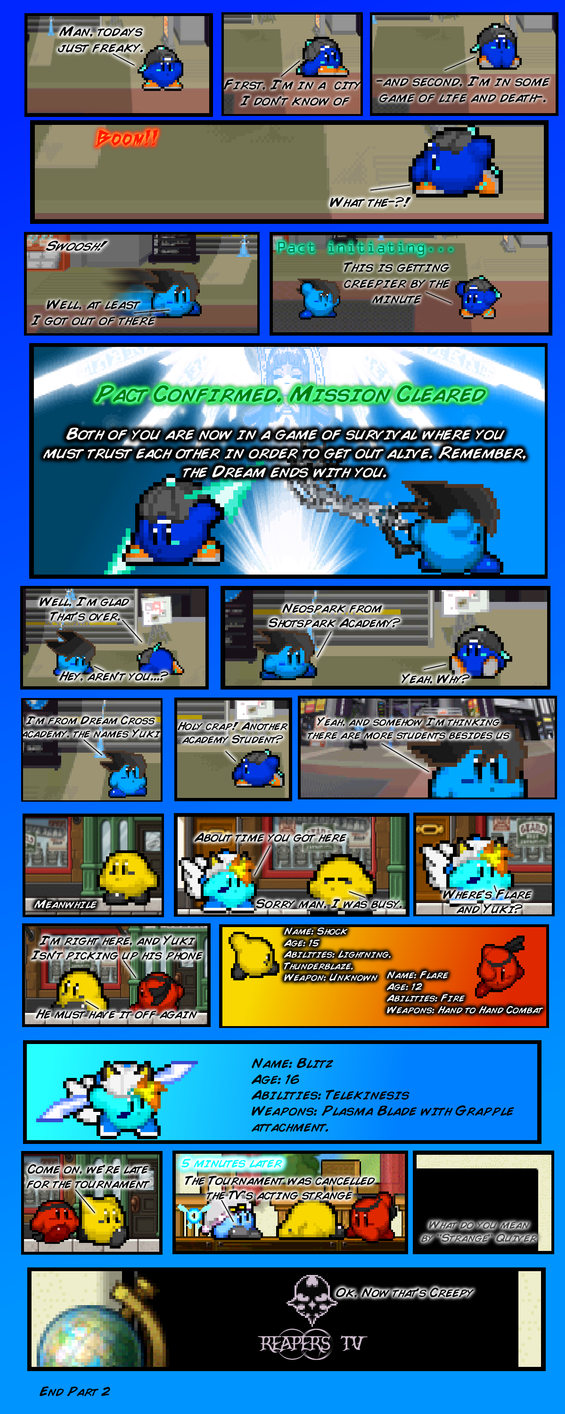 The Dream ends with you Game 1 part 2 by FrostRaven32