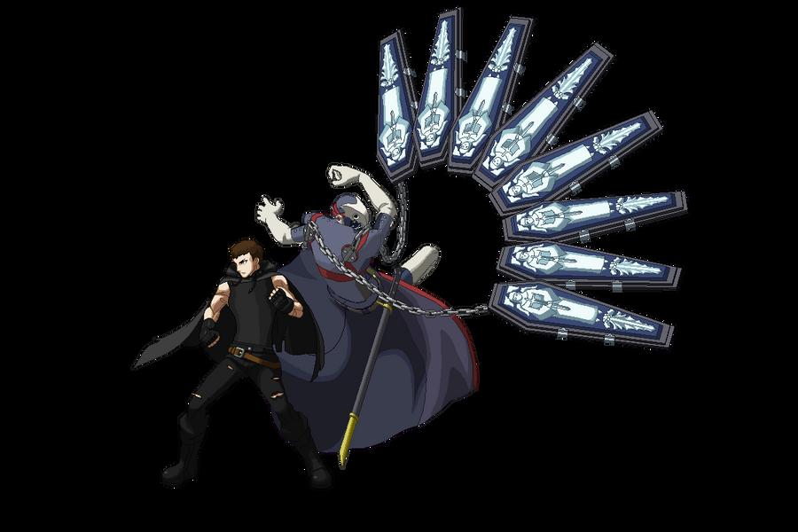 Persona 4 arena Alex by FrostRaven32