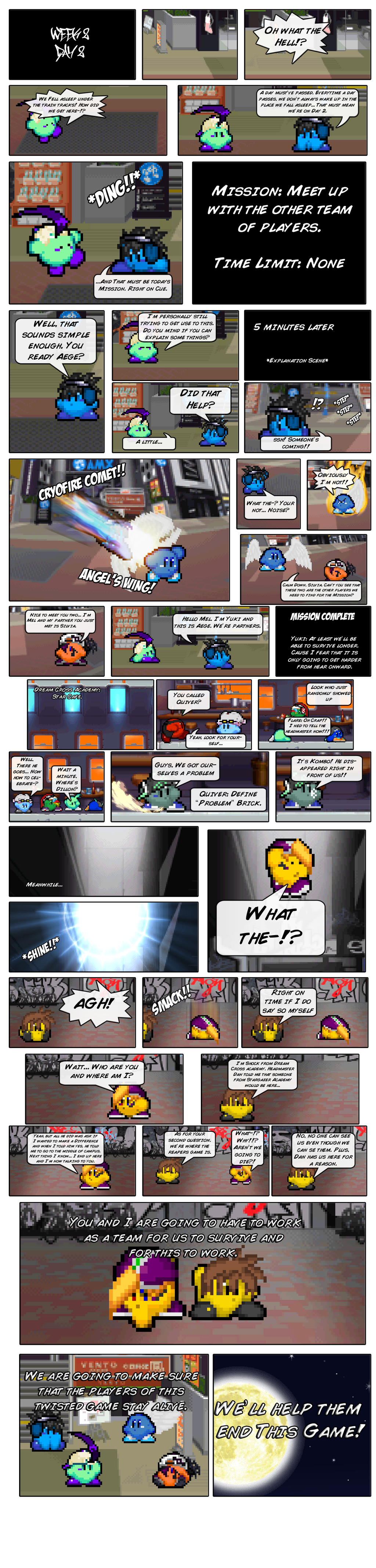 The Dream Ends with you Game 8 by FrostRaven32