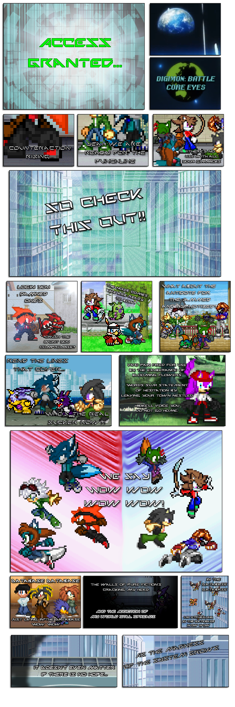 Digimon Battle: Core Eyes Opening by FrostRaven32