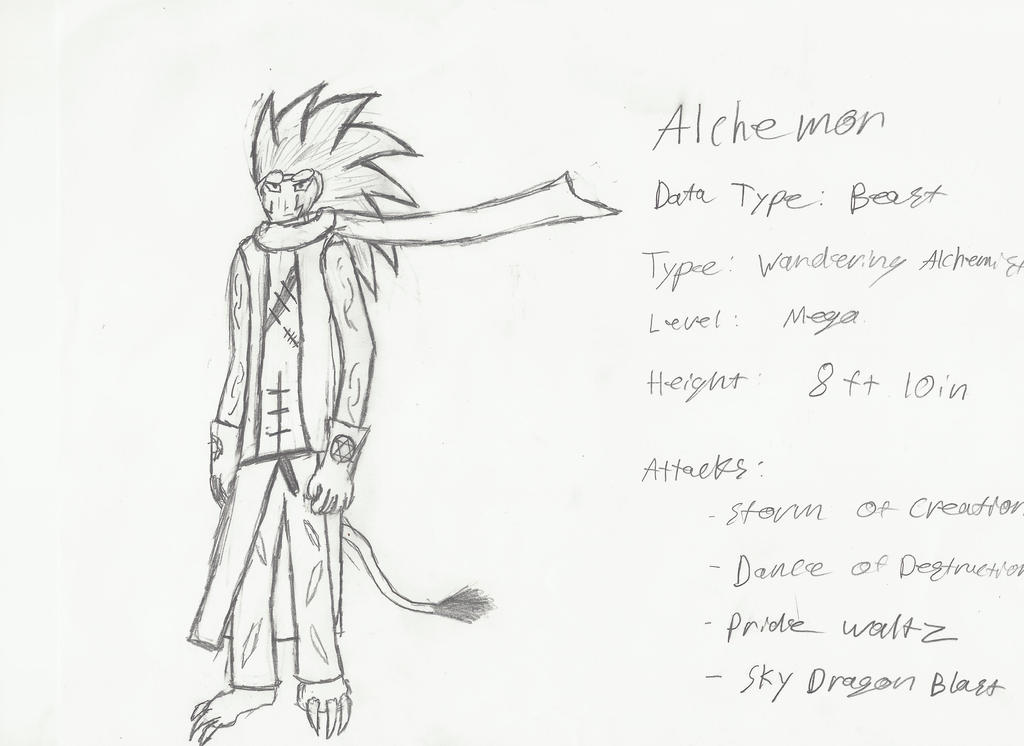 Drawing Time: Alchemon by FrostRaven32