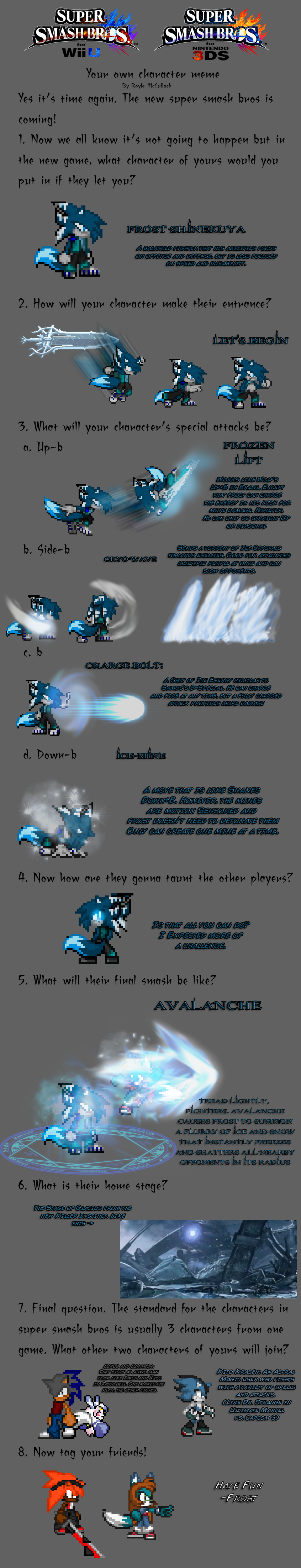 Super Smash Bro's Meme Frost by FrostRaven32