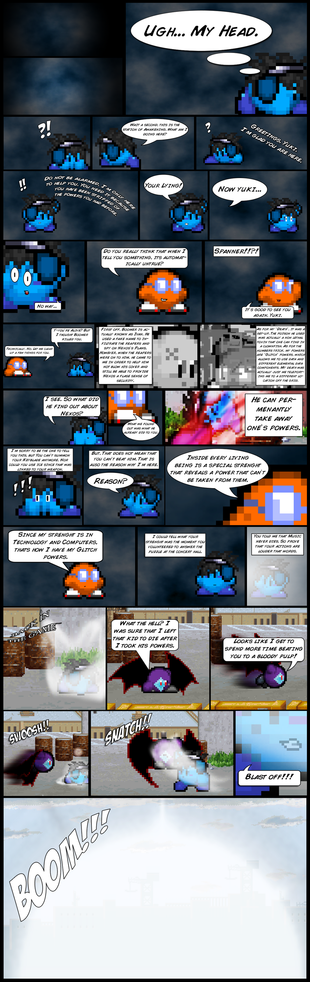 The Dream Ends with you Game 9 part 5 by FrostRaven32