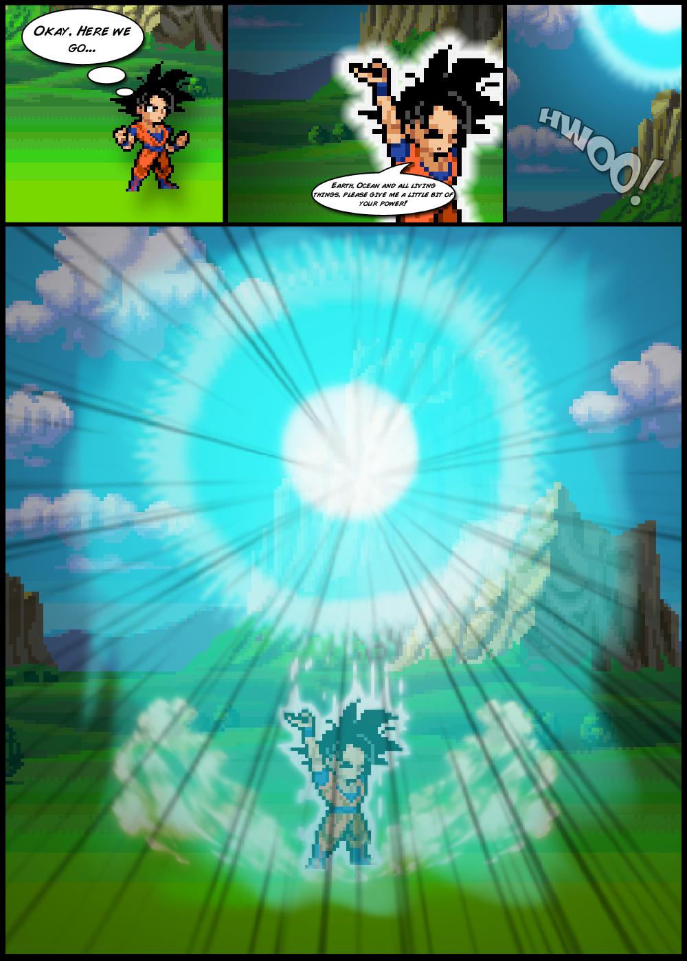 Spirit Bomb by FrostRaven32