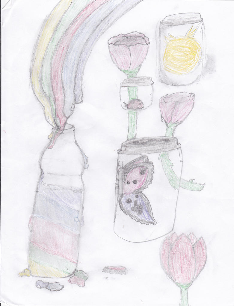 Jars of happiness by sonamygurl234